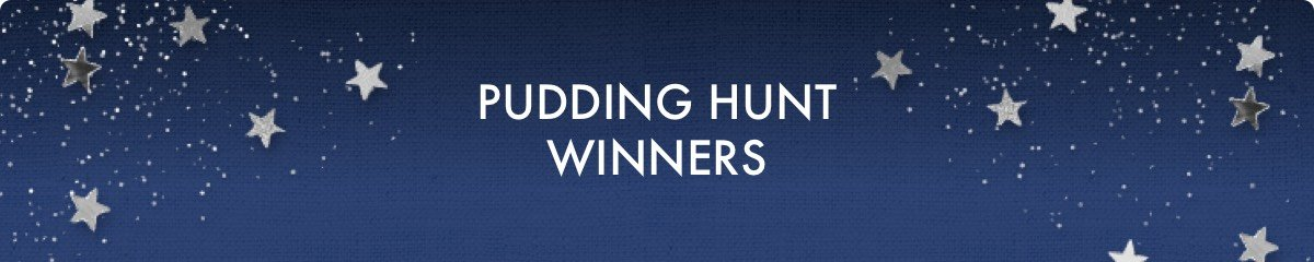 Pudding Hunt Winners