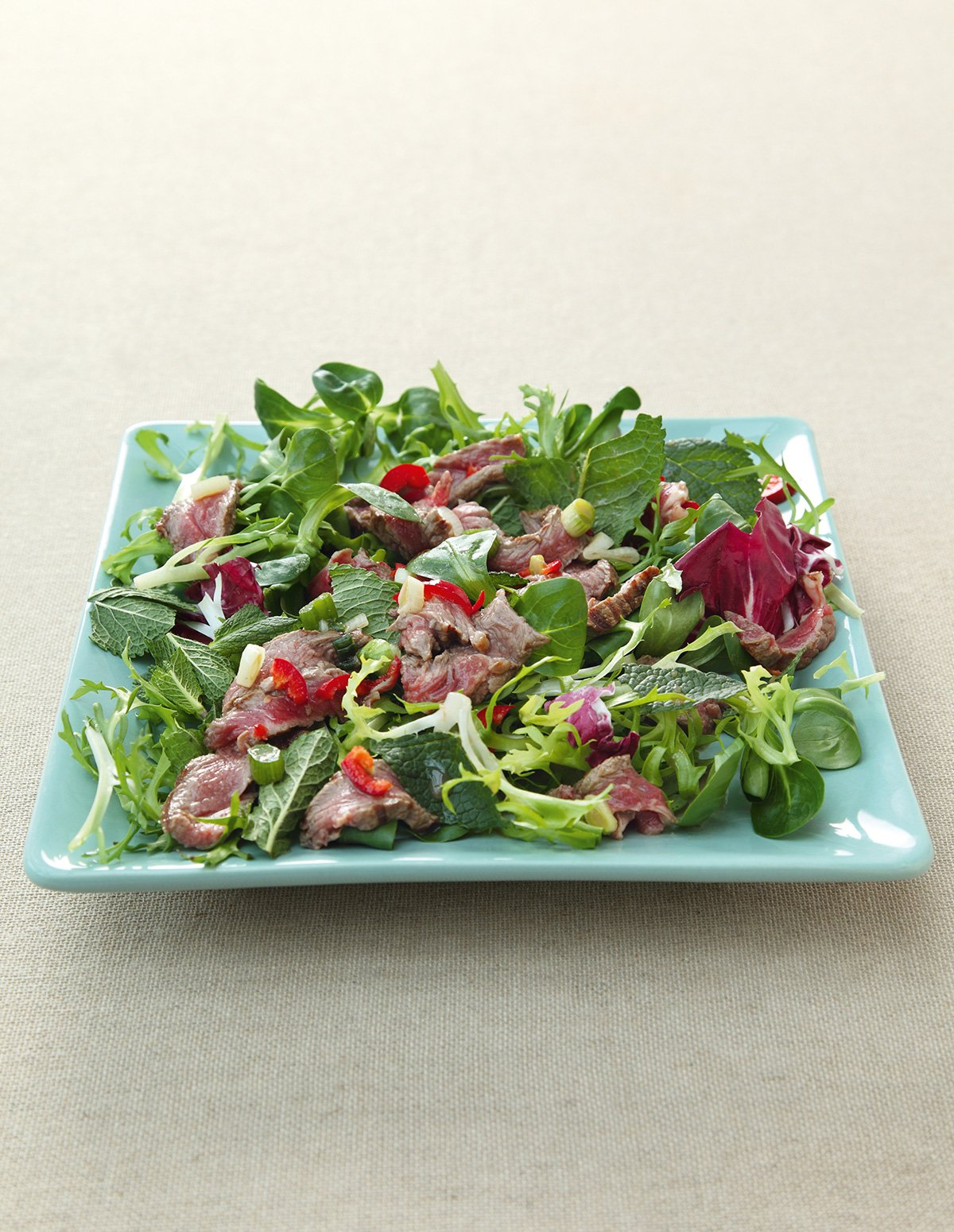 Cambodian Hot and Sour Beef Salad
