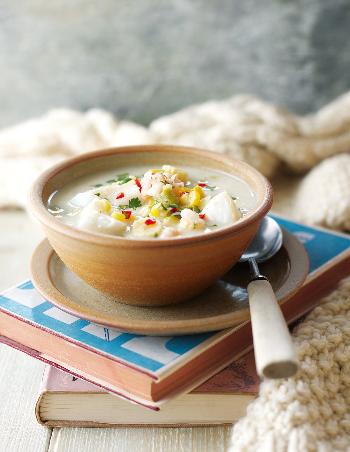Chowder with Asian Flavours