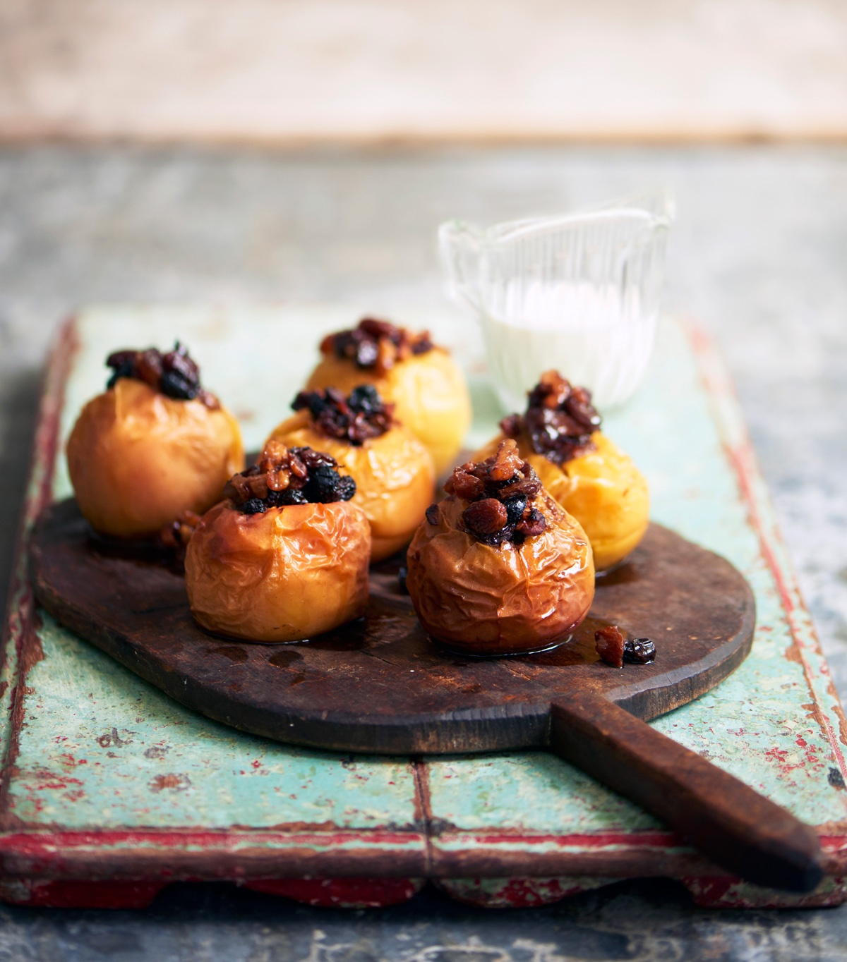 Image of Angela Clutton's Baked Apples with Balsamic