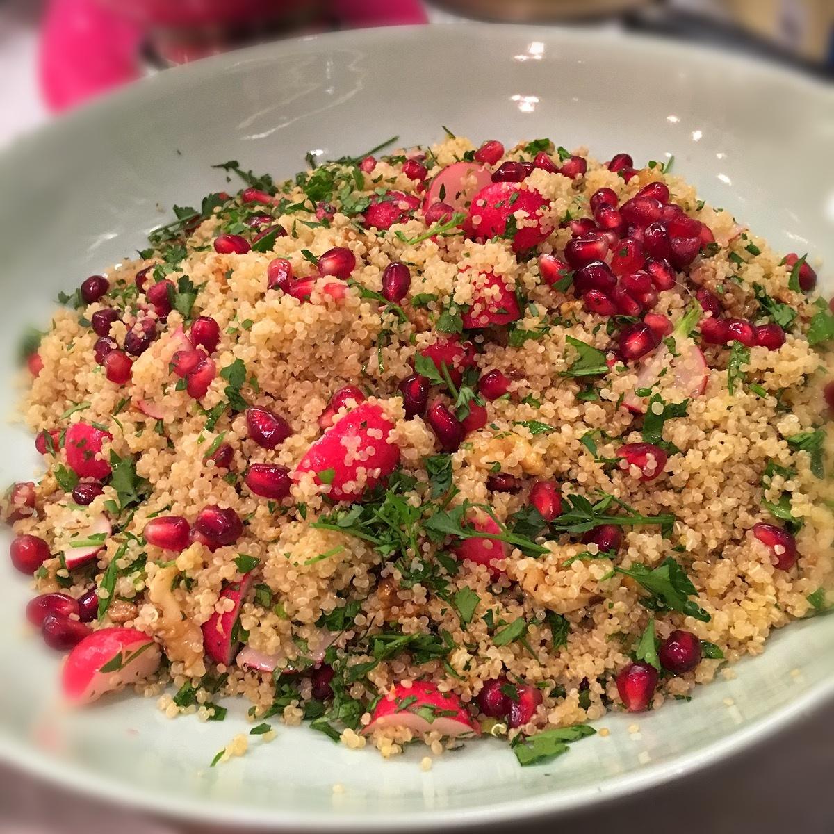 Pomegranate Chicken With Almond Couscous Recipe: Couscous Pomegranate Nigella Lawson