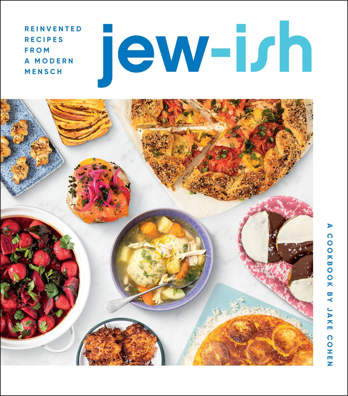 Book cover of Jew-Ish by Jake Cohen