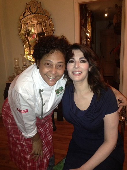 Nigella and Katia Barbosa