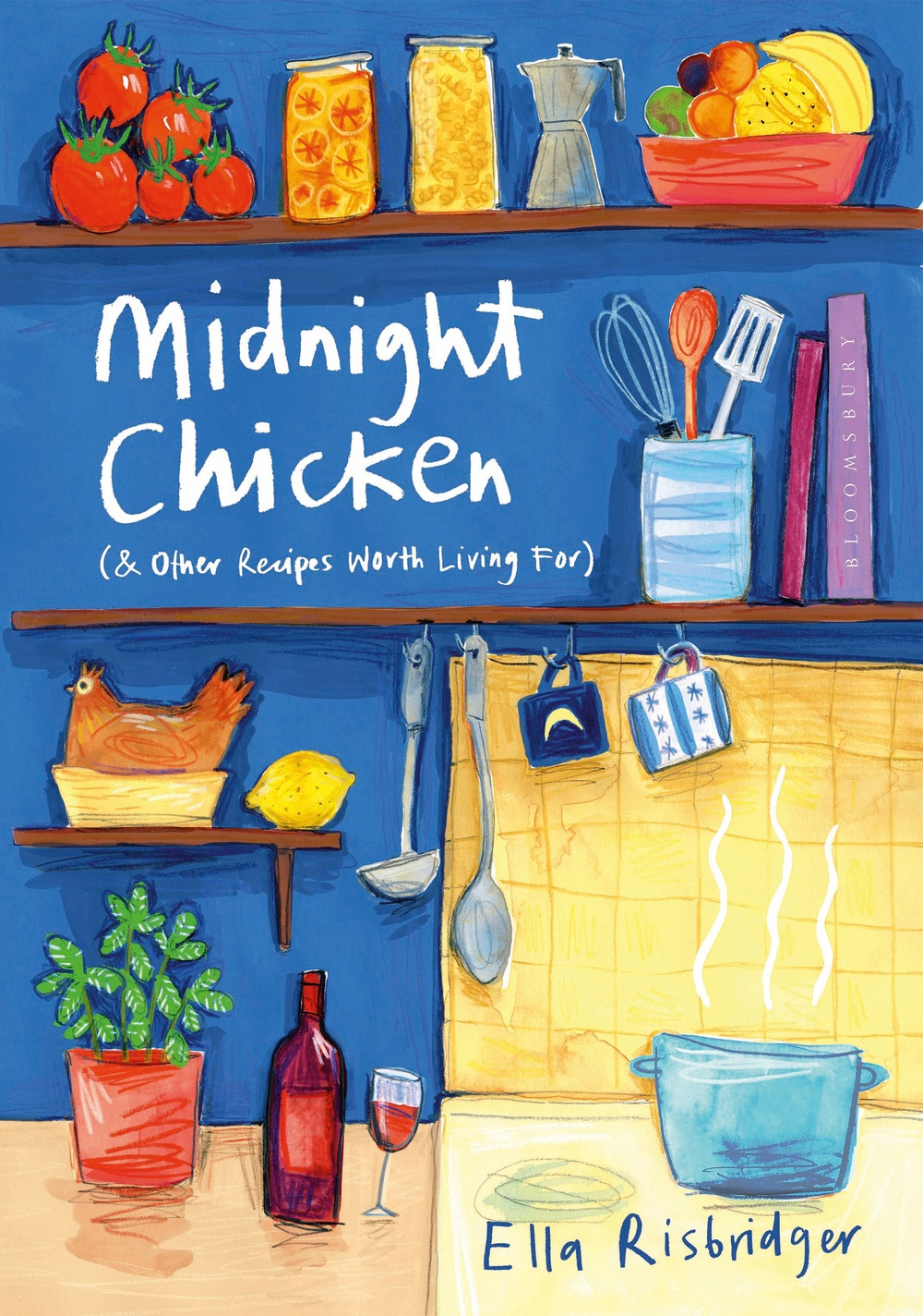 Book cover of Midnight Chicken by Ella Risbridger
