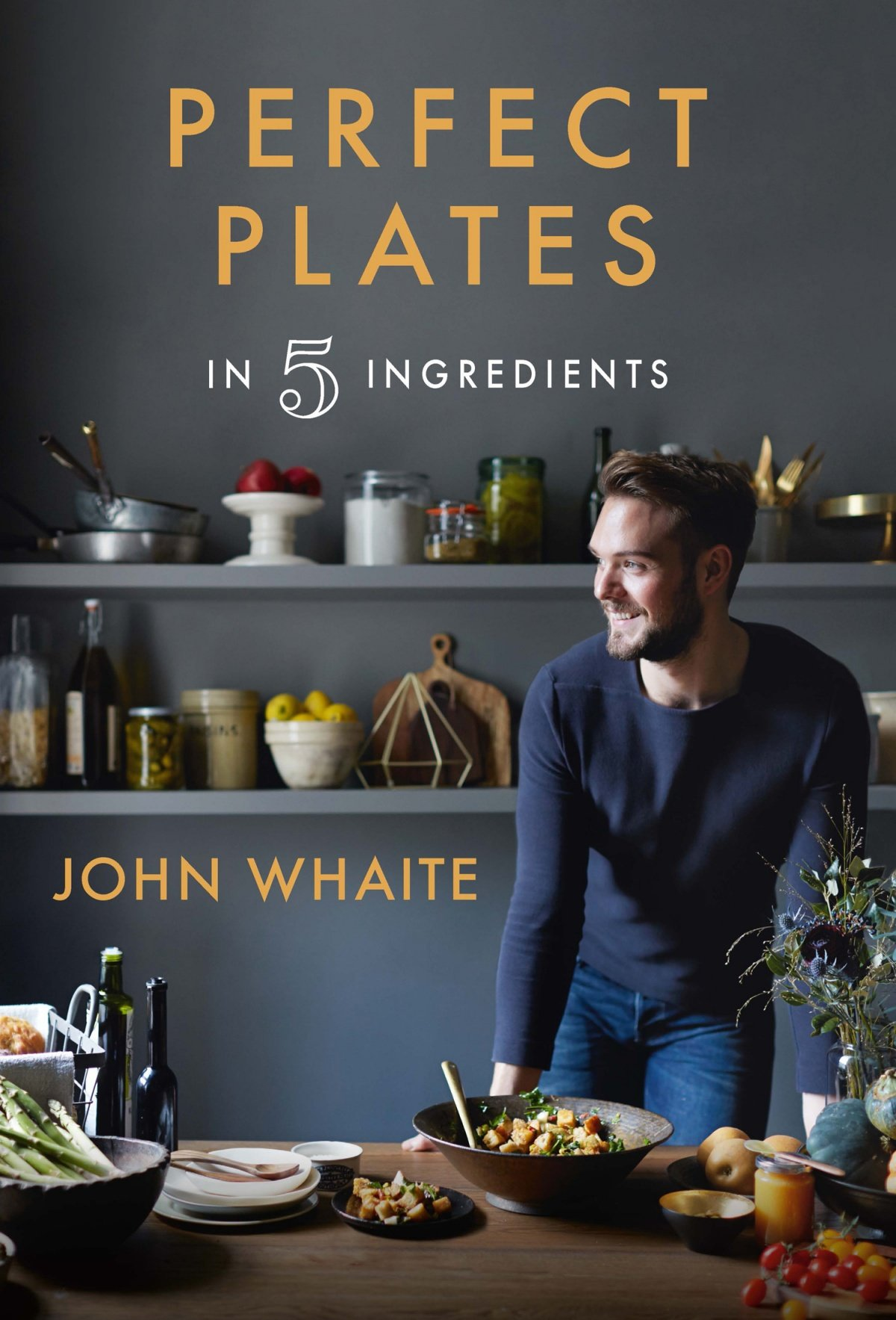 Book cover of Perfect Plates by John Whaite