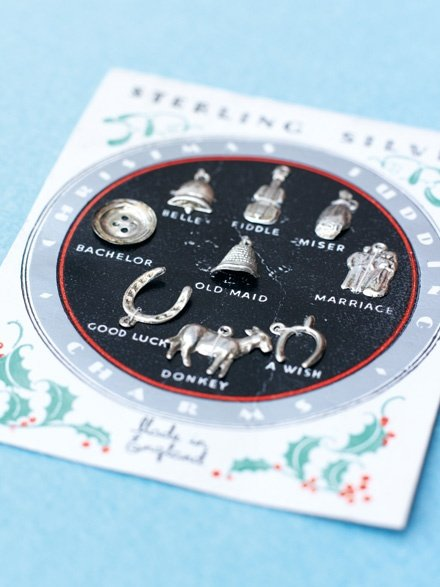 Christmas Pudding Charms