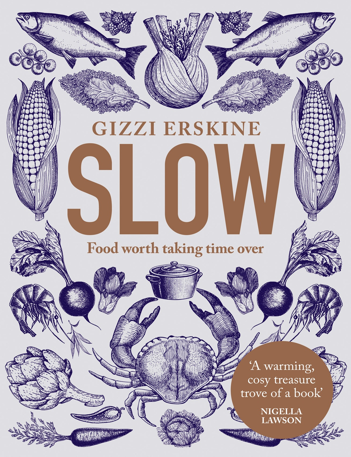Book cover of Slow by Gizzi Erskine