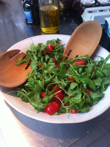 Tomato and Rocket Salad