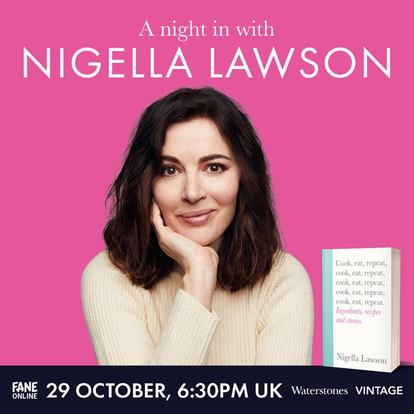 Image of A Night In With Nigella Fane Online event