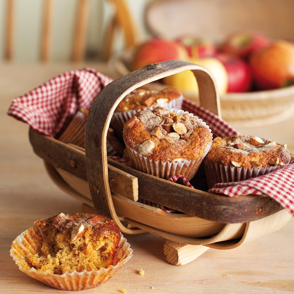 Image of Nigella's Apple and Cinnamon Muffins