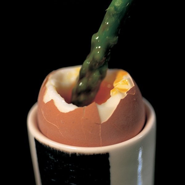 Image of Nigella's Asparagus with Soft Boiled Egg