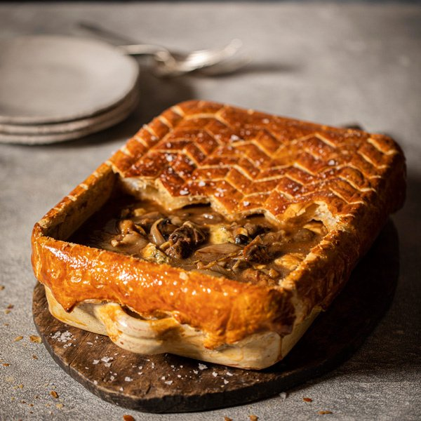 Image of Calum Franklin's Beef Stilton and Onion Pie