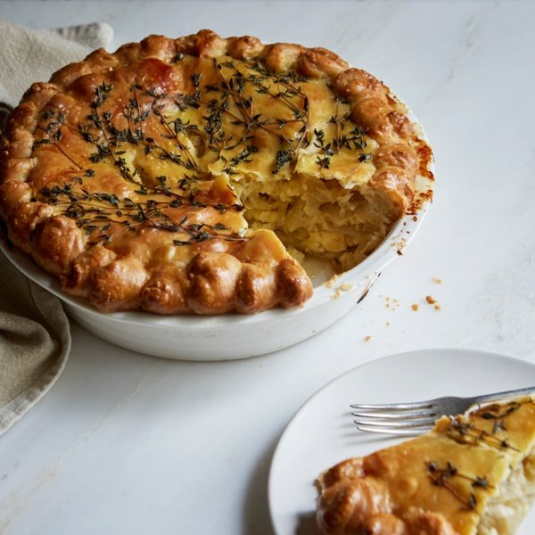 Image of Michelle Eshkeri's Cheese and Onion Pie