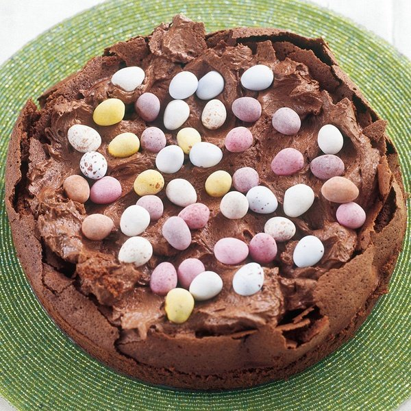 Image of Nigella's Easter Egg Nest Cake