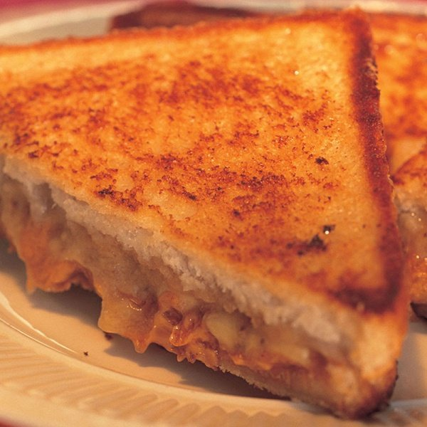Elvis Presley's Fried Peanut-Butter and Banana Sandwich