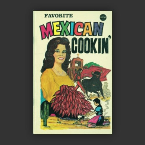 Image of Favorite Mexican Cookin Penguin Cookery Postcard