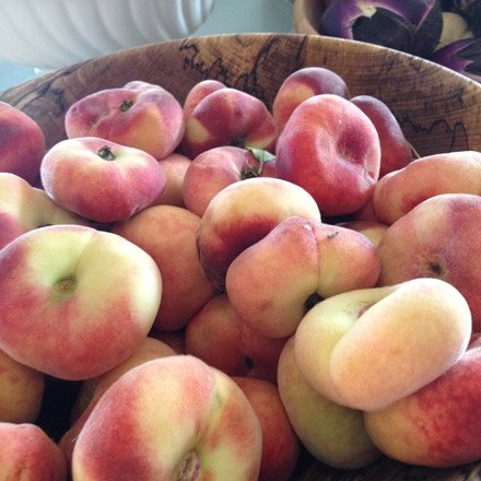 Flat Bottomed Peaches