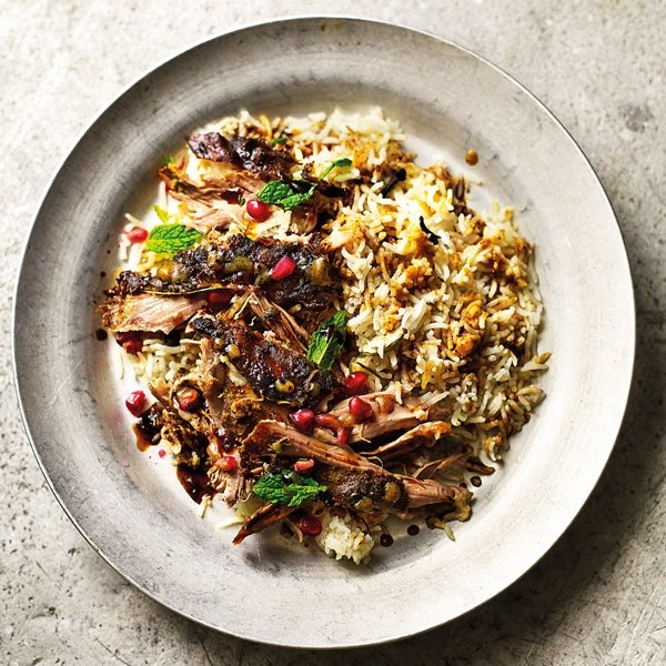 Image of Rob Allison's Slow-Cooked Lamb Biryani