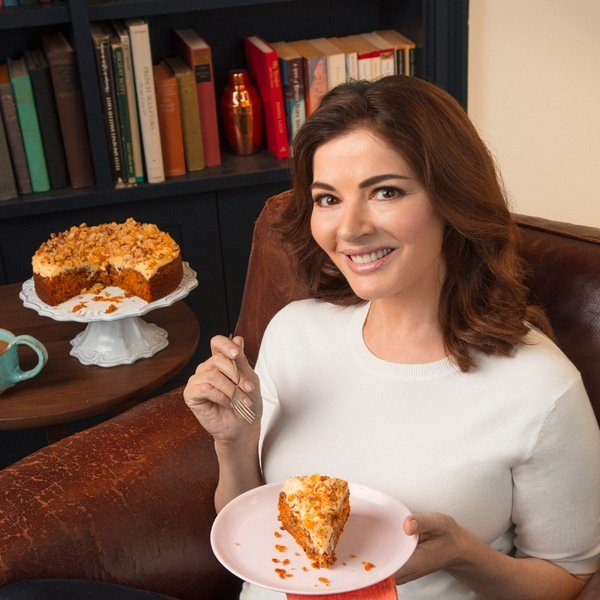Image of Nigella with Ginger and Walnut Carrot Cake