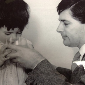 Nigella with her father