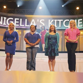 Nigella's Team on the taste