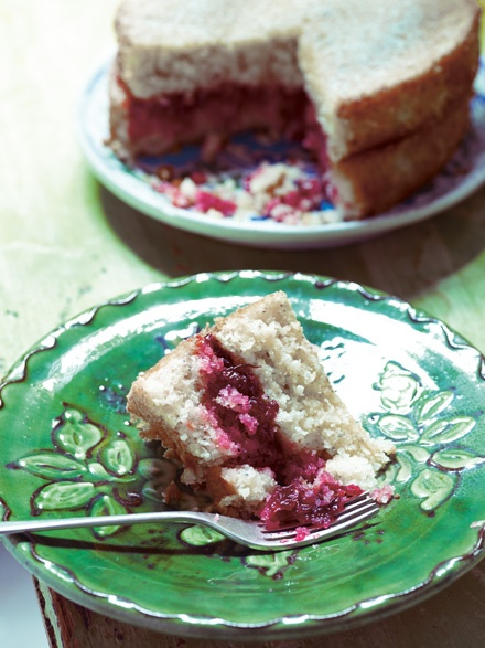 Image of Anne Shooter's Ottoman Sponge Cake