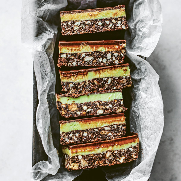 Image of Edd Kimber's Peppermint Chocolate Slices