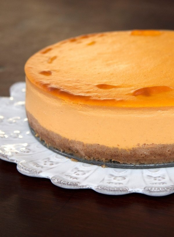 Image of Nigella's Pumpkin Cheesecake