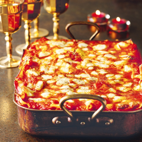 Image of Nigella's Pumpkin and Goat's Cheese Lasagne