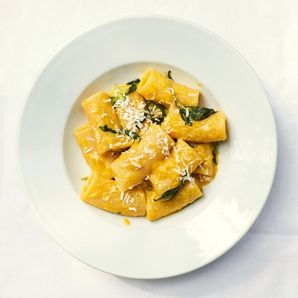 Image of Joe Trivelli's Rigatoni with Yellow Peppers