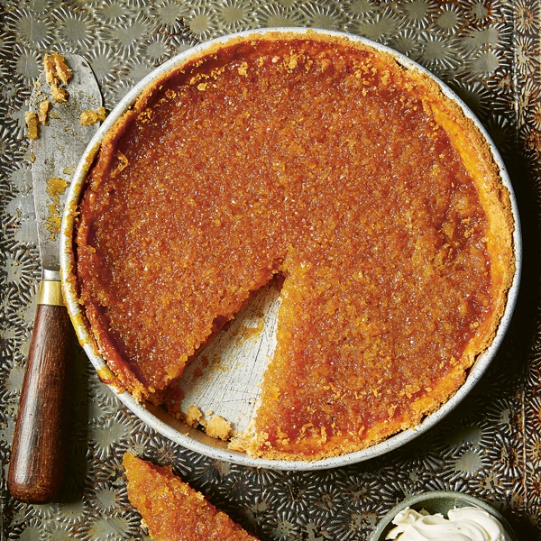 Image of Richard Snapes' Sourdough Treacle Tart