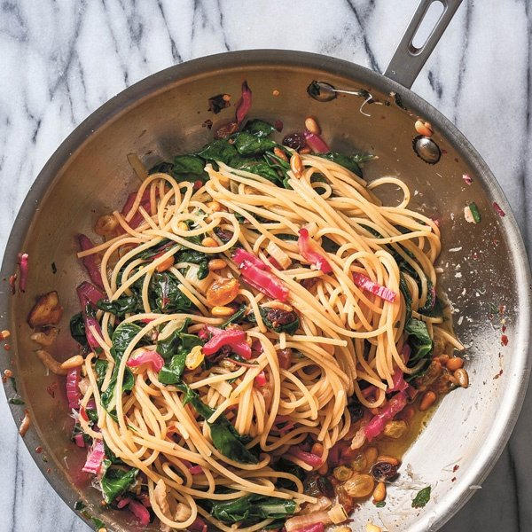Image of Spaghetti With Swiss Chard by Joshua McFadden