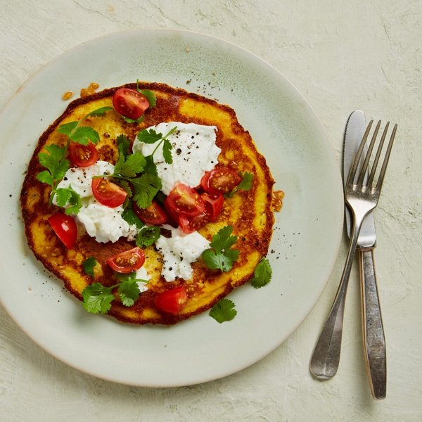 Image of Niki Segnit's Sweetcorn Griddle Pancakes
