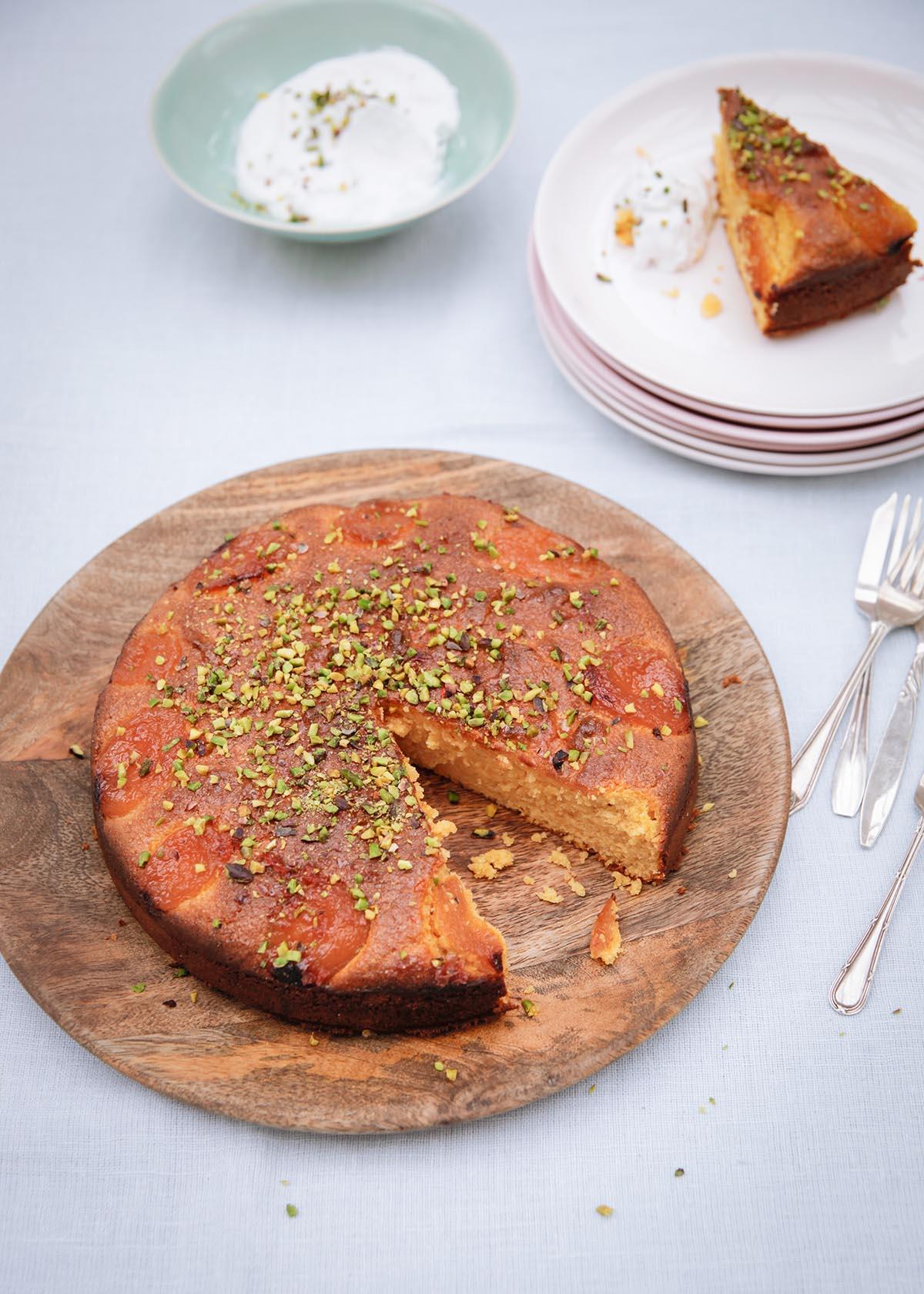 Apple Almond Cake Recipe Bbc