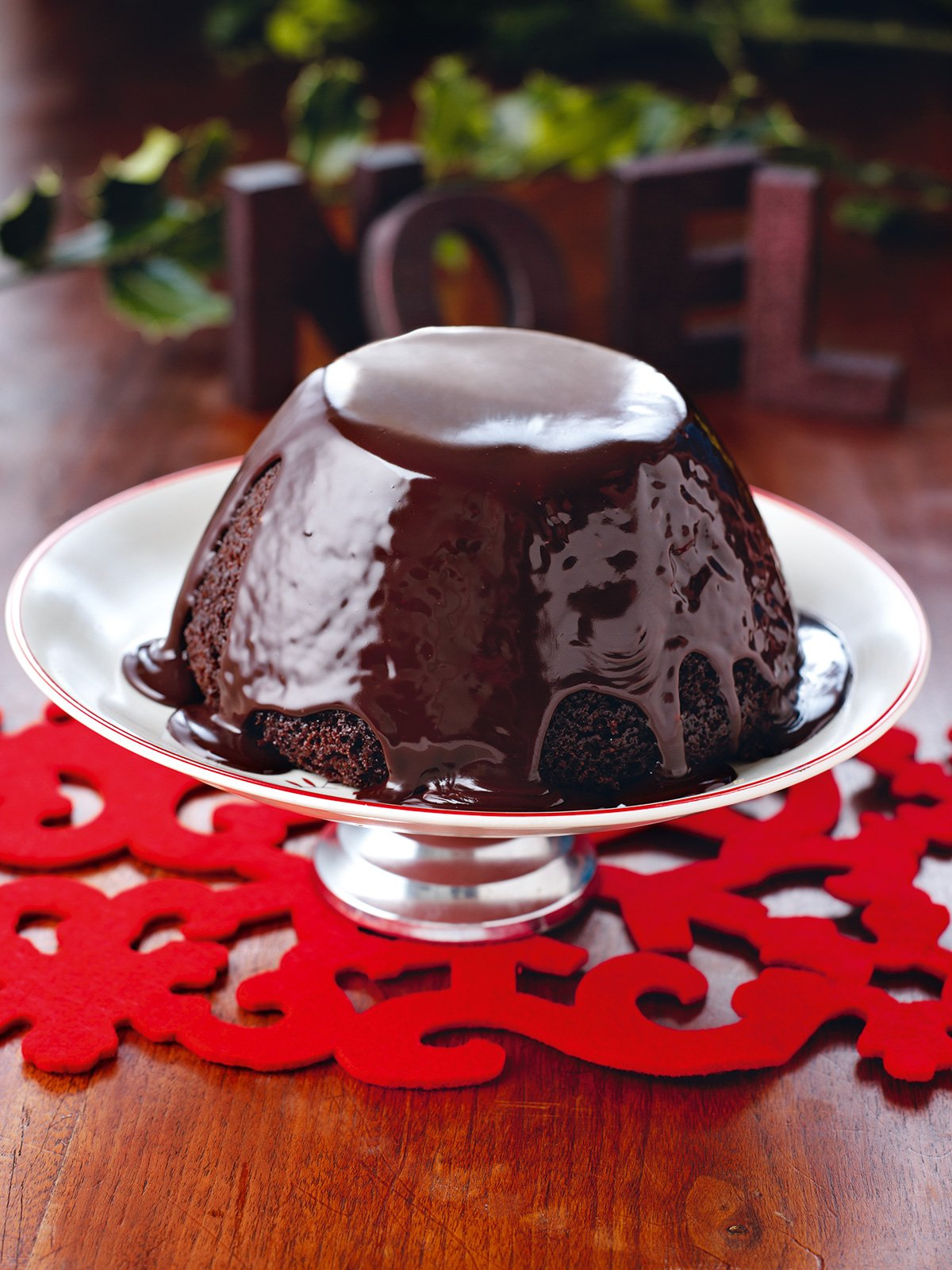 Chocolate Pudding For Christmas Pudding Haters With Hot