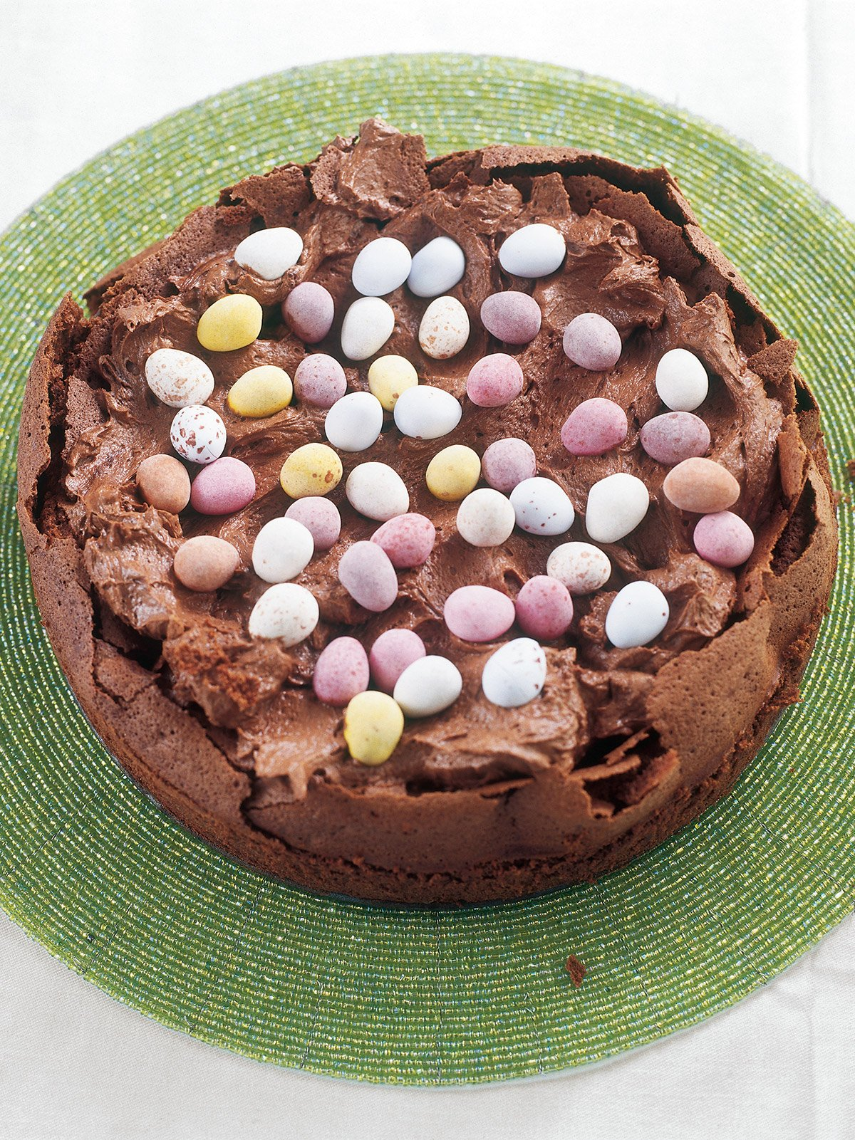 Chocolate Easter Cake Images : Easter Egg Nest Cake Nigella s Recipes Nigella Lawson
