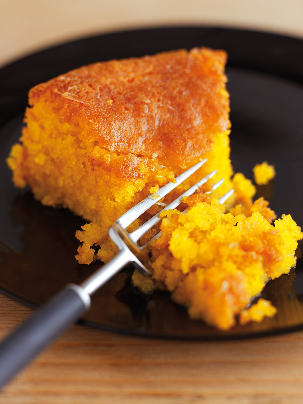 Lemon Polenta Cake Recipe