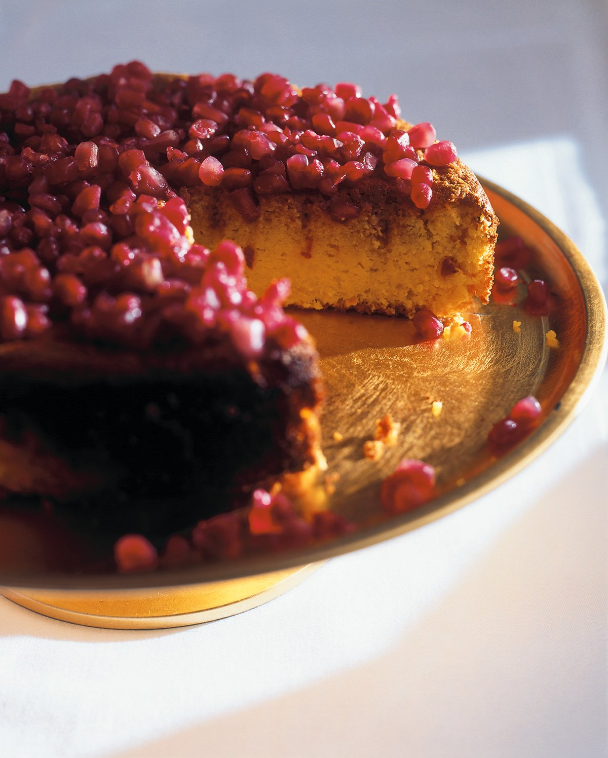 Pomegranate Jewel Cake