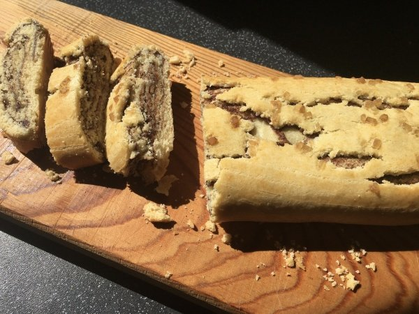 Biscotti arrotolati - Rolled biscuits