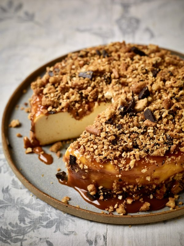 Image of Nadiya Hussain's Back-To-Front Cheesecake