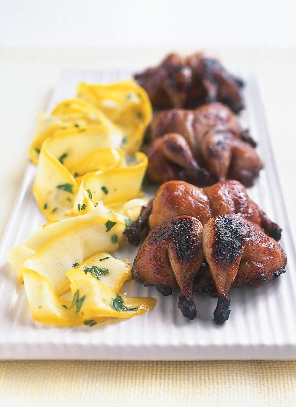 Barbecued Quail