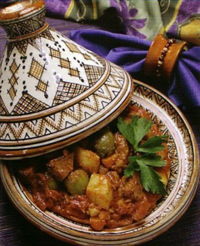 Beef and Green Olive Tajine