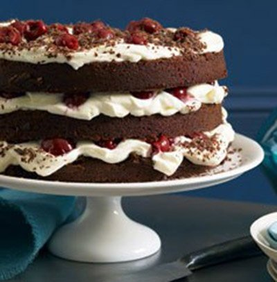 Gordon Ramsay Black Forest Cake
