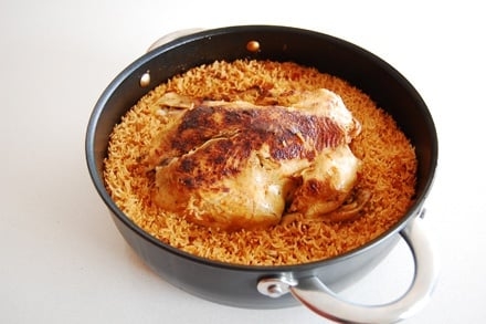 Image of Linda Dangoor's Overnight Chicken Buried in Aromatic Rice