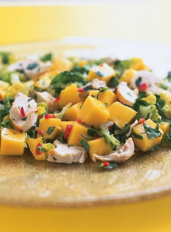 Chicken Mango And Chilli Salad