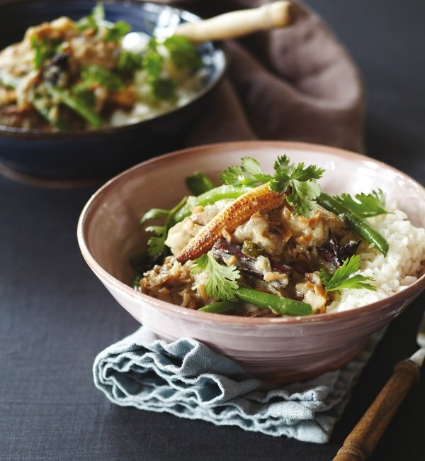 Image of Peter Gordon's Chicken and Peanut Coconut Curry