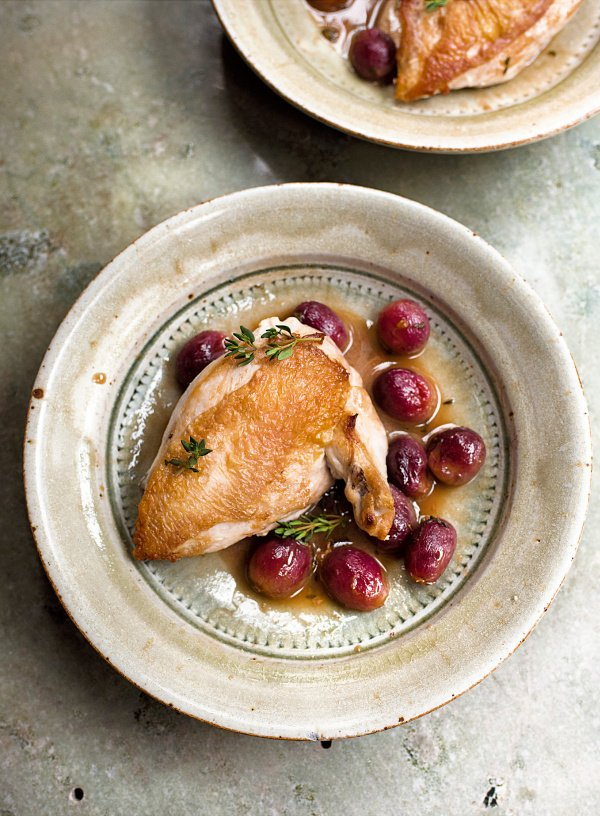 Image of Nigella's Chicken with Red Grapes and Marsala