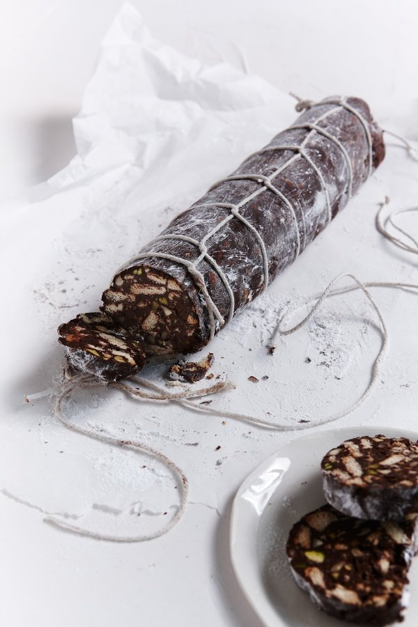 Chocolate Salame Nigellas Recipes Nigella Lawson
