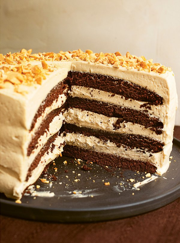 Image of Nigella's Chocolate Peanut Butter Cake