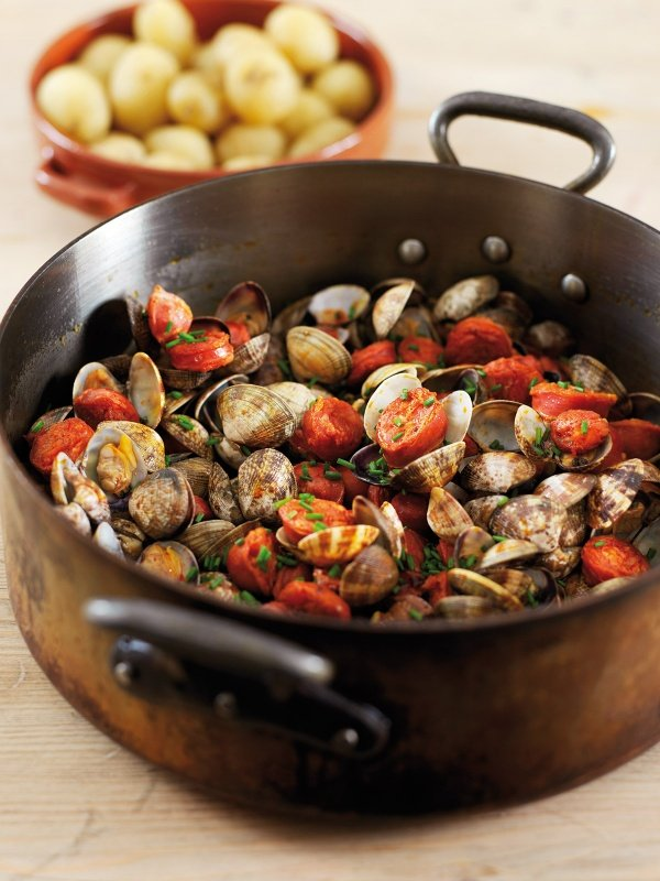 Image of Nigella's Clams with Chorizo